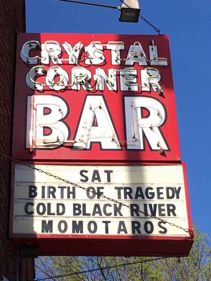Crystal Corner Bar